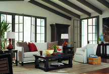 Bernhardt Pacific Canyon / Pacific Canyon is a robustly scaled collection that invokes the casual sophistication of the West Coast and is influenced by Spanish and French designs. http://www.carolinarustica.com/shop-by-brand/furniture/bernhardt/pacific-canyon / by Carolina Rustica