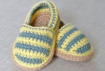 crochet slippers & shoes