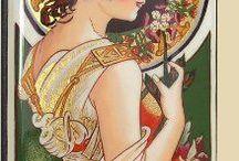 Malíř  Alfons Mucha