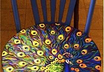 painted furniture / furniture