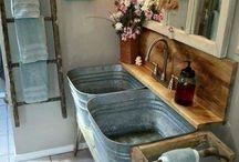 Vanhan ajan kylpyhuone