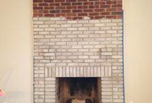 White wash brick