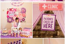 Doc Mcstuffins Party Ideas / by Styling the Moment