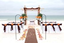 A Chocolate Beach Wedding / Big Day Weddings, Beach Weddings, Chocolate beach wedding theme, Orange Beach Alabama, Gulf Shores Alabama, Gulf Coast Weddings.