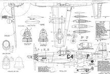 lentokone piirustukset