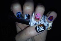 Nail art groupes de musique