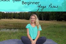 Beginner Yoga for Stress Relief / Stress can cause physical limitations such as infertility, but can also make PCOS and Endometriosis symptoms worse. Try these beginner yoga techniques to aid in managing your stress!