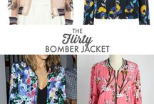 [ sewing ] bomber inspiration