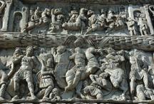 Roman Reliefs relating Sasanians