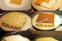 Yemekler pastalar