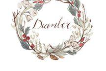 bullet journal - wreaths