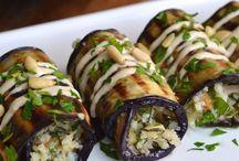 Eggplant entree