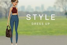 Style Dress up game / My very own awesome fashion game available for free on App store and Google Play store!