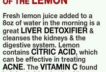 benefits of lemon consumption