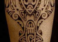 Tatouage polynésien maori