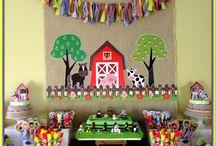 Cumpleaños de granja