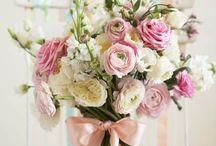 Créations florales ..shabby ...romantique...champètre !