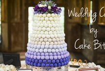 """Cake Ball Wedding Cakes / Cake Bites has a variety of unique wedding options to make your big day extra special. Check out our one-of-a-kind Cake Bite """"Cakes,"""" beautifully decorated wedding-themed Cake Bites, favors for your guests, and groom's cake options."""