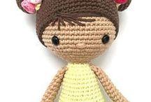 muñecas a crochet