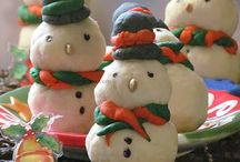 Eggless Christmas Cookies