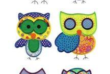 "DOODLES - Owls ""twit-a-woo"""