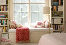 Window Seats / Fun and inspiring window seats from DIY to the designer.