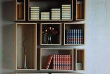 Bibliotecas y estantes