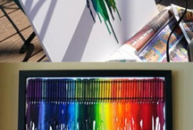 crayons arnt just for kids / by Dawn Solomon