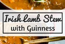 Western European Recipes / Recipes from the British Isles, France, Germany, and other countries in Western Europe