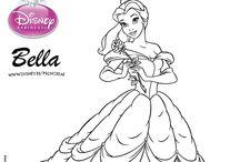 Dibujos de Princesas Disney / Si te gustan las princesas Disney esta colección de dibujos seguro que te encantará. Todas las princesas Disney estan en esta colección juntas para que las puedas colorear. Ariel, Bella, Mérida, Elsa, Anna, Mulán, Pocahontas... Coloréalas a todas en esta sección especial de dibujos Disney.