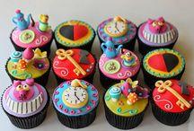 School Holiday Cupcake Ideas / School Holiday Cupcake Ideas