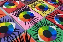 Kunst Farblehre