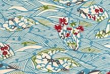 Paper  and patterns / Patrones en telas y papel
