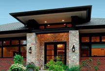 Style home exterior