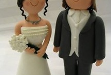Wedding cakes and toppers