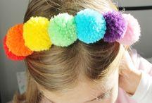 festa arco iris decoração