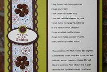 Cookbook recipe templates