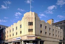 Buildings - art deco style / by Merry Ford