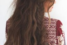 Casual/Boho Hairstyles for Long Hair