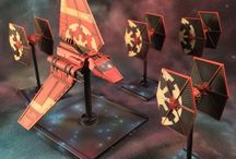 X-wing miniature games repaints