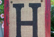 The letter H / by heidi hassett
