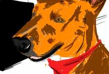 dogs / by Kay Boneybruiser