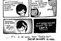 Social Anxiety / by Inspirational Mental Health