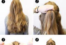 Penteados fácil de fazer
