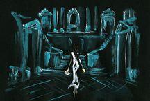 works:Dior 8 / my artworks for Dior 'Secret Garden Ⅳ - Versailles'   Film (storyboard 絵コンテ)