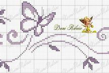 cross stitch bordery