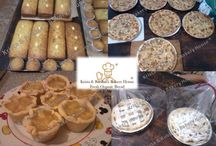Organic home made bread, tarts, strudel and much more
