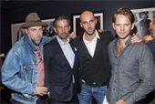 Thomas Piecre and Valerio DAmbrosio attend Men of Esquire NYFW Cocktail Celebration
