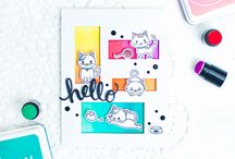 Purr stamps