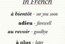 En français! / by Jenny Smith